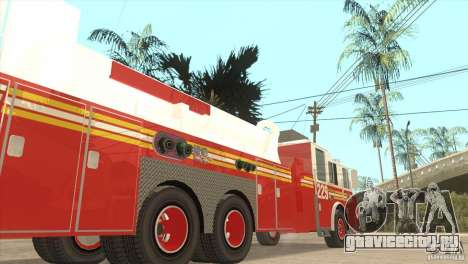 FDNY Seagrave Marauder II Tower Ladder для GTA San Andreas
