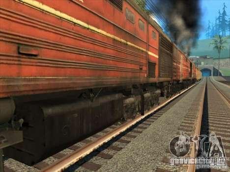 3ТЭ10М-1199 для GTA San Andreas вид сбоку