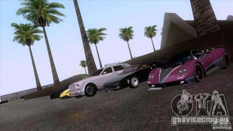 Rolls Royce Phantom Hamann для GTA San Andreas колёса