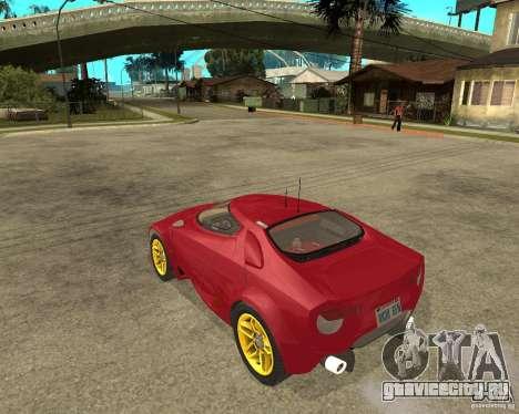 Lancia Stratos Fenomenon для GTA San Andreas вид слева
