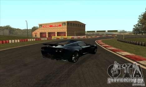 Трасса GOKART Route 2 для GTA San Andreas третий скриншот