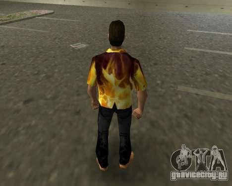 Рубашка с огнем для GTA Vice City третий скриншот