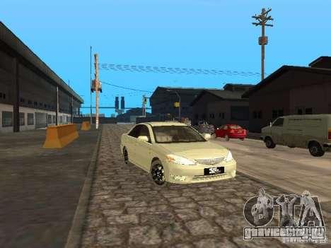 Toyota Camry 2003 для GTA San Andreas вид слева