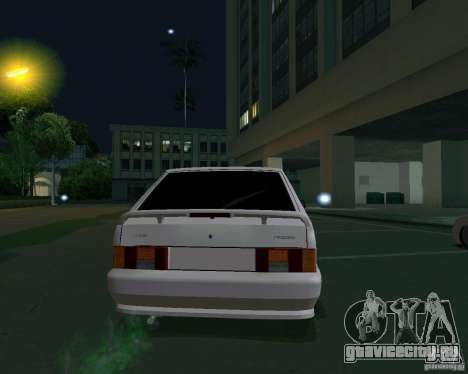 Ваз 2114 Экстра для GTA San Andreas вид сзади слева
