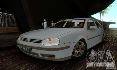 Volkswagen Golf 4 1.6 для GTA San Andreas