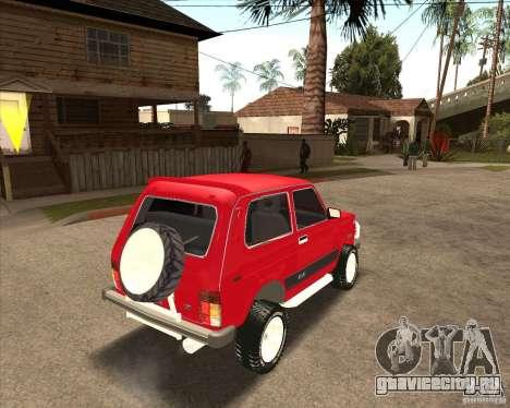 ВАЗ 21213 4x4 для GTA San Andreas двигатель