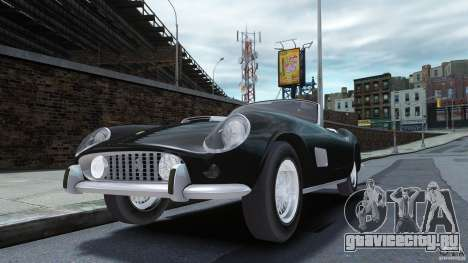 Ferrari 250 California 1957 для GTA 4