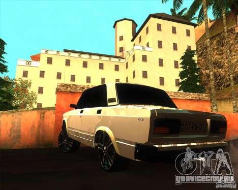 VAZ 2107 Azeri Style для GTA San Andreas вид слева