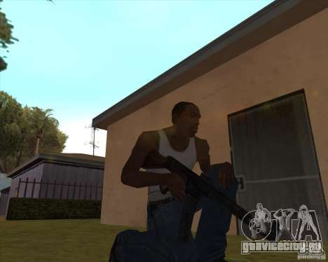 Mp43 (stg44) from wolfenstein для GTA San Andreas третий скриншот