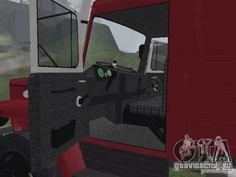 ГАЗ 3309 Пожарная для GTA San Andreas вид справа