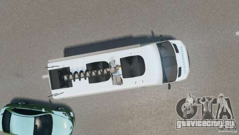Mercedes-Benz Sprinter-Identification Criminelle для GTA 4 вид справа