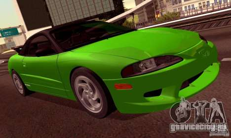 Eagle Talon TSi AWD 1998 для GTA San Andreas колёса