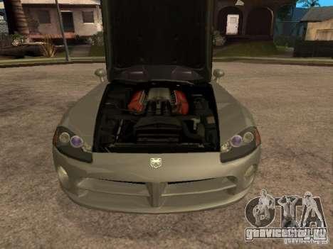 Dodge Viper Coupe 2008 для GTA San Andreas вид справа