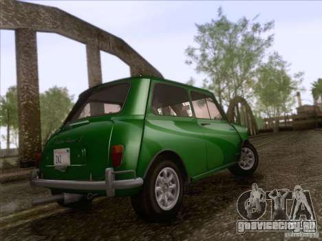Austin Cooper S 1965 для GTA San Andreas вид сзади