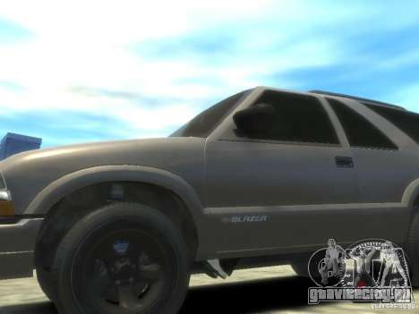 Chevrolet Blazer LS 2dr 4x4 для GTA 4 вид сзади слева
