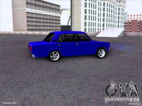 ВАЗ 2107 Drift для GTA San Andreas вид сзади
