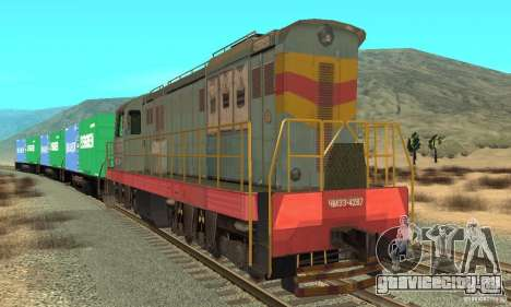 Локомотив ChME3-4287 для GTA San Andreas вид слева