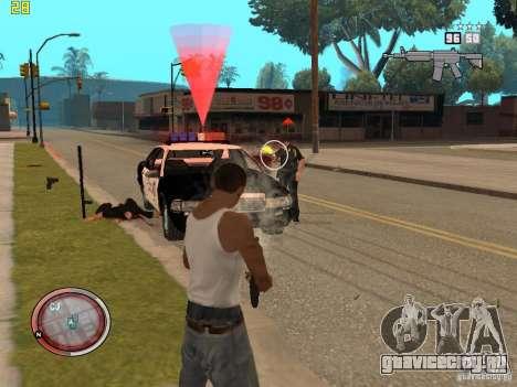 Дополнение к GTA IV HUD для GTA San Andreas шестой скриншот