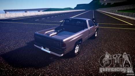 Dodge Ram 2500 1994 для GTA 4 вид справа