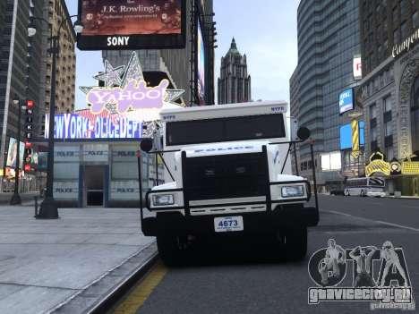 Enforcer Emergency Service NYPD для GTA 4 вид слева