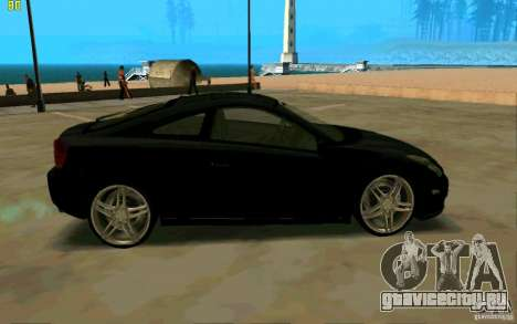 Toyota Celica 2005 для GTA San Andreas вид слева