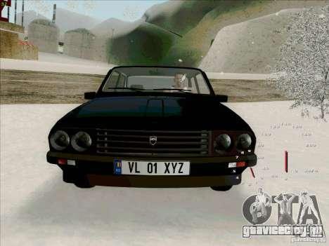 Dacia 1310 Sport для GTA San Andreas вид изнутри