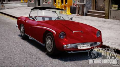 FSO Syrena Sport 1960 для GTA 4 вид сзади