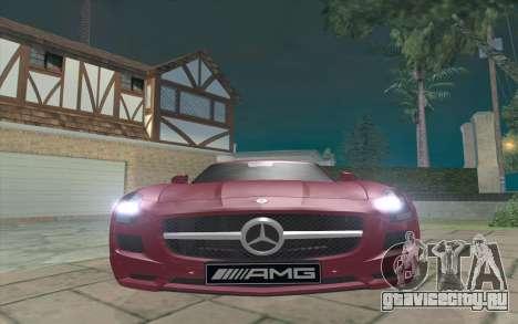 Mercedes-Benz SLS AMG 2011 V3.0 для GTA San Andreas вид слева
