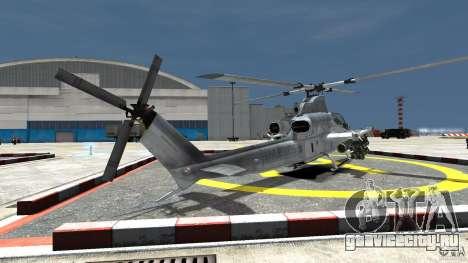 Bell AH-1Z Viper для GTA 4 вид сзади слева