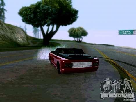 Slamvan Tuned для GTA San Andreas вид справа