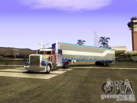 Truck Optimus Prime v2.0 для GTA San Andreas
