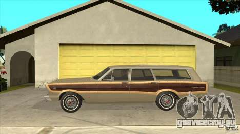 Ford Country Squire 1966 для GTA San Andreas вид слева