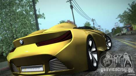 BMW Vision Connected Drive Concept для GTA San Andreas вид изнутри