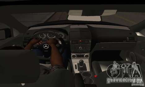 Mercedes-Benz C180 для GTA San Andreas вид сзади