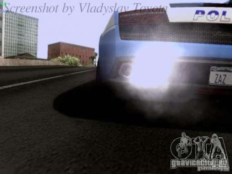 Lamborghini Gallardo LP560-4 Polizia для GTA San Andreas вид сбоку