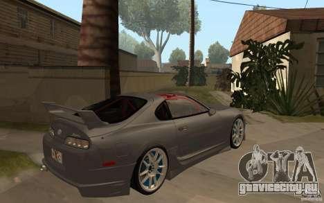 Toyota Supra Rz The Bloody Pearl 1998 для GTA San Andreas вид справа