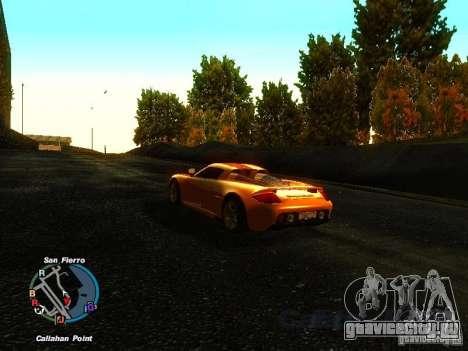 Porsche Carrera GT 2003 для GTA San Andreas вид справа