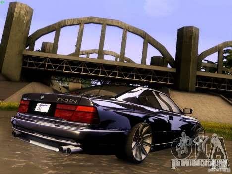BMW 850 CSI для GTA San Andreas салон