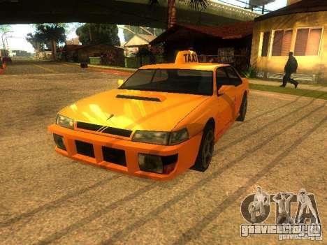 Taxi Sultan для GTA San Andreas вид слева