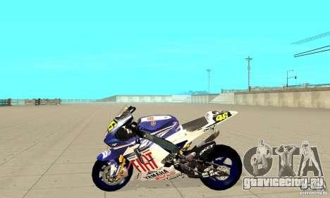 Honda Valentino Rossi Nrg500 для GTA San Andreas вид слева