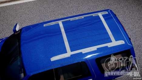 Lincoln Navigator 2004 для GTA 4 вид сверху