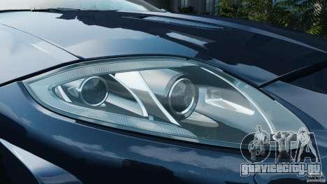 Jaguar XKR-S Trinity Edition 2012 v1.1 для GTA 4 двигатель