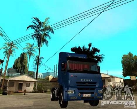 КамАЗ 5460М для GTA San Andreas вид сзади