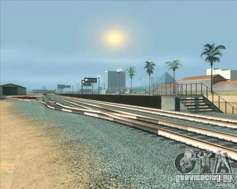 Высокие платформы на ж/д станциях для GTA San Andreas шестой скриншот