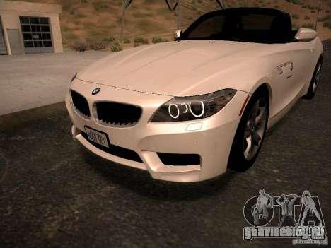 BMW Z4 sDrive28i 2012 для GTA San Andreas двигатель