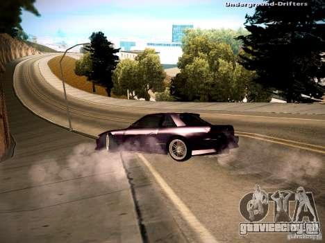 Nissan Silvia S13 Tandem Of DIE для GTA San Andreas вид слева