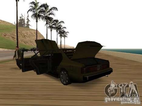 Sentinel XS для GTA San Andreas вид справа