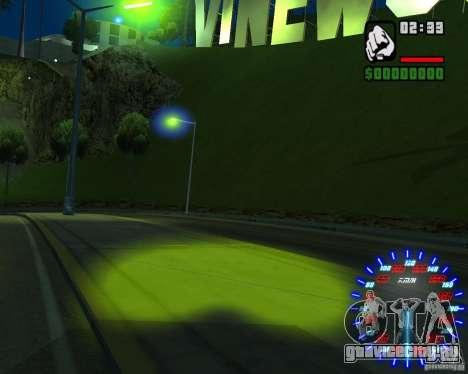 Новые эффекты для GTA San Andreas седьмой скриншот