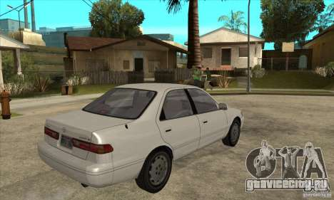 Toyota Camry 2.2 LE 1997 для GTA San Andreas вид справа