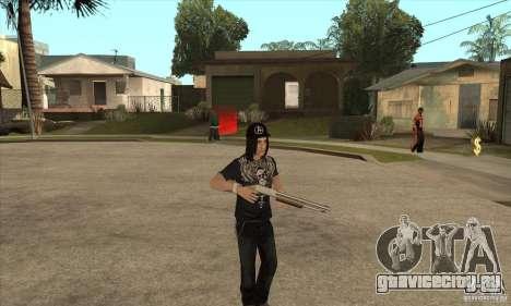 Criss Angel Skin для GTA San Andreas третий скриншот